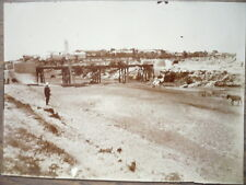 PHOTO ANCIENNE 1902 TUNISIE KORBA PONT