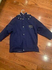 Nike Youth Winter Jacket Size 8 With Detachable Hood Fleece Lined Hood & Jacket