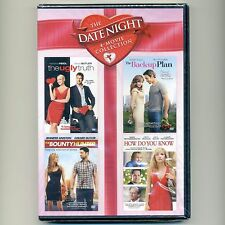 4 romance movies, new DVDs Ugly Truth, Backup Plan Bounty Hunter How Do You Know
