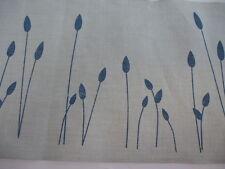 Leinenband 11 fädig Vaupel & Heilenbeck 200mm breit Motiv Gräser blau  5110-200