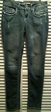 VIGOLD SKINNY WOMENS BLUE JEANS SIZE 1/2 OR 26