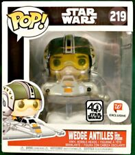 WEDGE ANTILLES with SNOW SPEEDER #219 Star Wars Funko Pop! EXCLUSIVE WALGREENS!