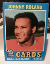 1971 Topps Johnny Roland #123 St Louis Cardinals