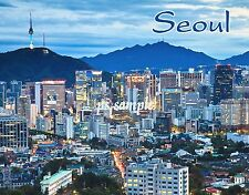 South Korea - SEOUL - Travel Souvenir Magnet
