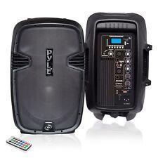 """NEW Pyle PPHP1037UB 10"""" 700W Powered BLUETOOTH Speaker W/ USB SD Input & Remote"""