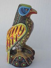 MANUEL CRUZ BEAUTIFUL EAGLE  OAXACAN CARVINGS  MEXICAN FOLK ART