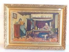 Künstlerische Öl-Malerei mit Porträts & Personen im Jugendstil