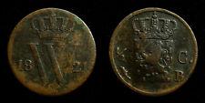 Netherlands - ½ Cent 1821 Brussel ~ Fraai-