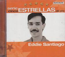 Eddie Santiago Serie Cinco Estrellas De Oro CD New Nuevo Sealed