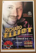 Richard Elliot Promo Concert Gig Tour Poster 2001 Albuquerque New Mexico Mint