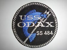 US Navy Patch USS ODAX SS-484 Tench-Class Submarine