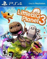 Little Big Planet 3 [PlayStation 4 PS4, LBP, Sony Exclusive, Paper Action] NEW