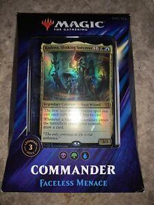 Magic: The Gathering Commander 2019 Faceless Menace Deck MTG Sealed