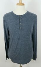 Marc Anthony Slim Fit Long Sleeve Waffle Henley Marble  MSRP $34.00