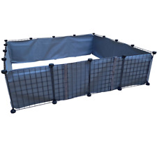 """Jelda's Whelping Box for Dogs - Birthing Pen for Mom and Puppies - 48""""x48""""x12"""""""