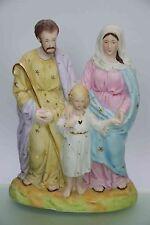 Antike Bisquitporzellan Figur Heilige Familie um 1900 TOP