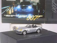 TOP: Herpa BMW Z8 silber mit gelben Scheinwerfern 007 James Bond in großer OVP