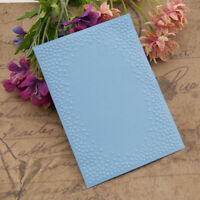 Bump Embossing folders Plastic Embossing Folder For Scrapbooking DIY card ZR