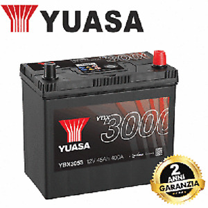 YBX3053 Battery YUASA GS Smf Enhanced 12V 45AH 238 X 129 X 223 Positive Dx