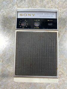 RARE! Sony TR-830 AM Portable Pocket Radio - Works Great Japan