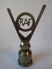RAF victory V car mascot. hood ornament.vehicle mascot