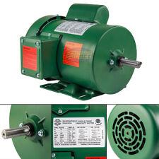 1 HP Single Phase Farm Duty Electric Motor 56 Frame 1800 RPM TEFC Enclosure
