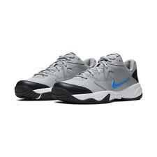 Nike Court Lite 2 Tennis Shoes Gray Blue Black White AR8836-011 Men's NEW