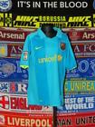 5/5 Barcelona boys 13-15 yrs 158-170cm 2007 away football shirt jersey trikot