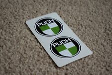 PUCH Motorcycle Motorsport Moped Scooter Racing Bike Decal Stickers 50mm