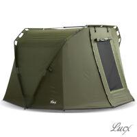 "Lucx® ""Caracal"" 2 Man Bivvy Angel Zelt Karpfenzelt Carp Dome Fishing Tent"