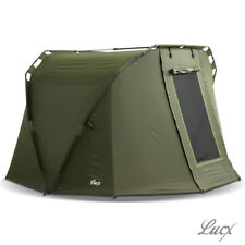 "Lucx® ""Caracal"" 2 Man Bivvy Angel Zelt Karpfenzelt Carp Dome Fishing Tent"