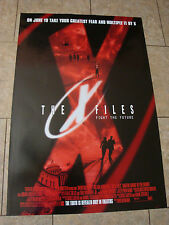X-FILES - MOVIE POSTER - FIGHT THE FUTURE