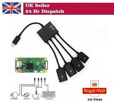 4 port Micro USB Host OTG Hub Adapter For Raspberry Pi Zero