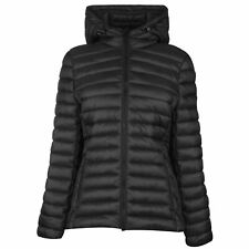 SoulCal Womens Micro Bubble Jacket Padded Coat Top Long Sleeve Lightweight