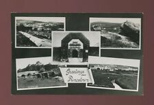 Devon PRINCETOWN Greetings from M/view c1920/50s? PPC by Chapman