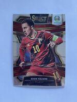 2020 Panini Select UEFA Euro Soccer Eden Hazard Belgium Terrace Card #28