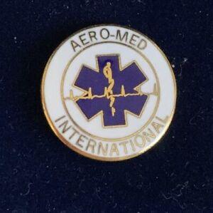 AERO-MED INTERNATIONAL EMT EMS PIN