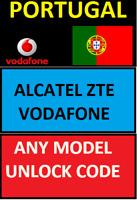 UNLOCKING CODE PORTUGAL ALCATEL VODAFONE VFD620 720 X9 VFD820 SMART N9 LITE MORE