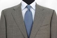 Ermenegildo Zegna 2Btn Gray Houndstooth Sport Coat Jacket Wool Men's 42R