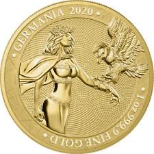 Gold Germania 2020 1 OZ Unze Ounce 100 Mark mit Zertifikat & Box