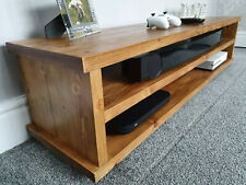 Tv stand, Solid wood , Handmade, Tudor Oak wax finish