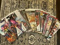 X-men Blue lot of 21 Issues 1 2 3 4 5 6 7 8 9 10 to 21 and Annual 1 Marvel Bunn