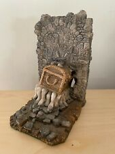 More details for clarecraft terry pratchett discworld luggage bookend figure dw13