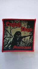 English Dogs Metalmorphosis RARE music patch Sew On