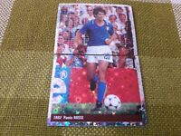 PAOLO ROSSI ITALIA FIGURINA DS STICKERS FRANCE 98 WORLD CUP new