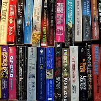 Paperback Book Lot INSTANT COLLECTION FREE SHIPPING 10lbs General Fiction CHEAP