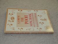 A. A. Milne, The Pooh Song Book, H. Fraser-Simson, Sheet Music Book, 1985 1st Ed