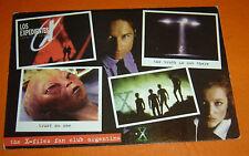 THE X-FILES rare TV Serie ARGENTINA Promo POST CARD
