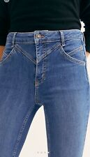 NWT Free People Riley Seamed Skinny Stretch Jeans 28