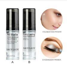 SACE LADY Matte Pore Invisible Face Primer Gel Eyeshadow Primer Eye Makeup Base